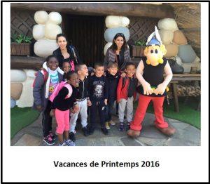 Vacances de Printemps 2016
